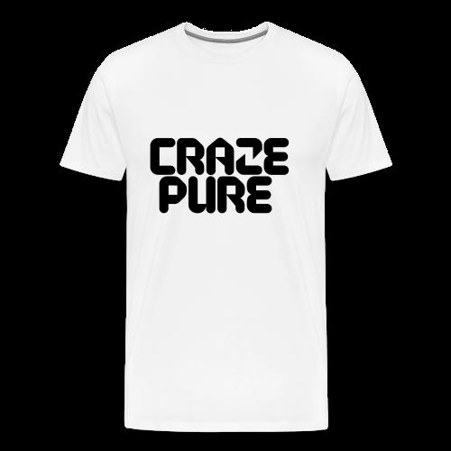 Craze Pure - Black Edition - Men's Premium T-Shirt