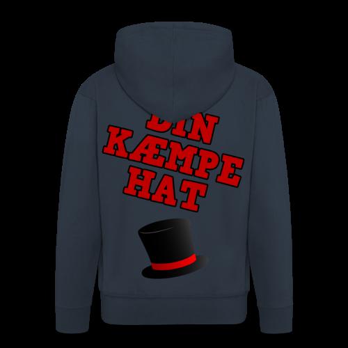 Kæmpe Hat Hættetrøje - Herre premium hættejakke