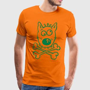 Pirate Dog T-Shirts - Men's Premium T-Shirt