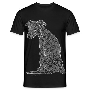Whippet t-shirt - Men's T-Shirt