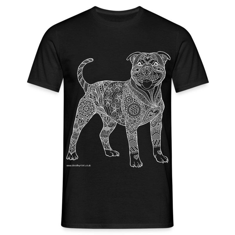 Staffy t-shirt - Men's T-Shirt