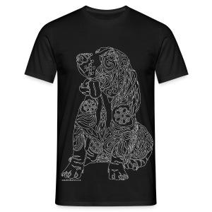 Basset t-shirt - Men's T-Shirt