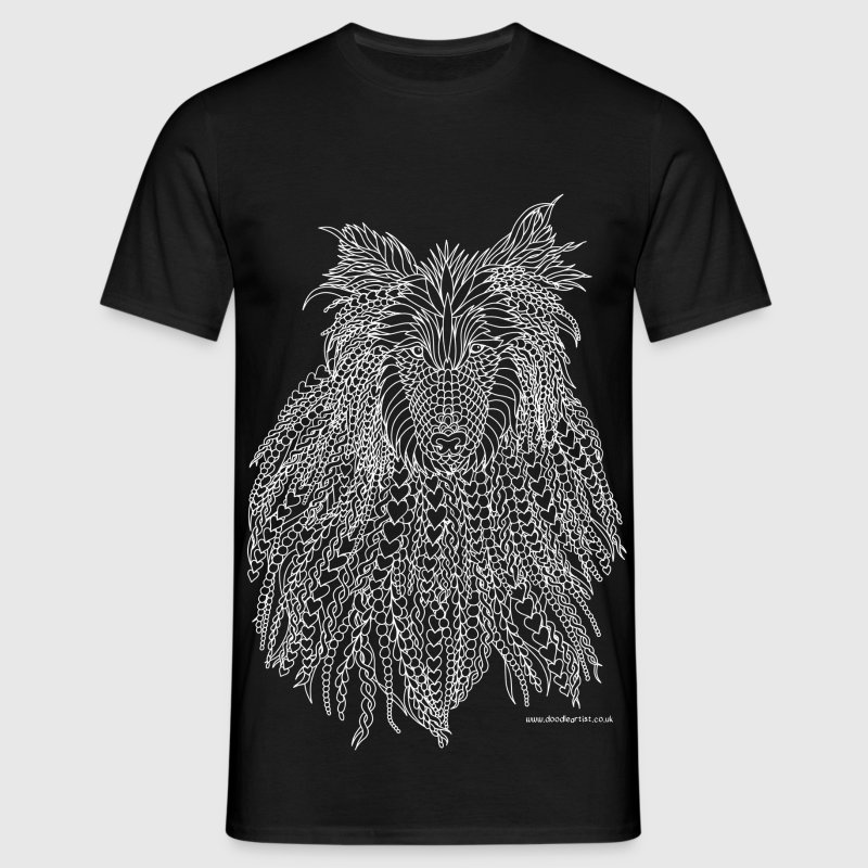 Rough Collie t-shirt - Men's T-Shirt