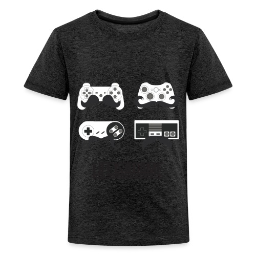 Teenagers Life Is A Game T-Shirt - Teenage Premium T-Shirt