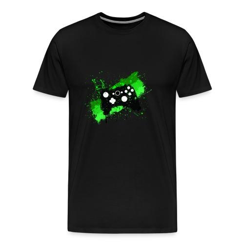 Mens Gaming Controller T-Shirt - Men's Premium T-Shirt