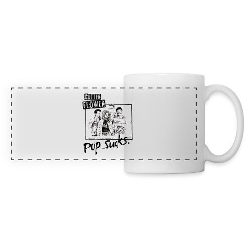Gutterflower - Pop Sucks Mug - Panoramic Mug