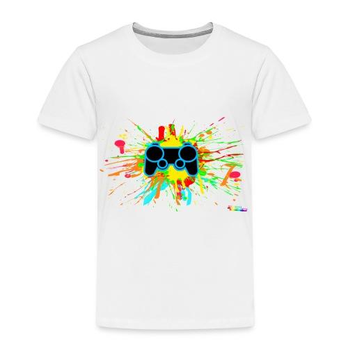 Kid's Splatter Controller Shirt - Kids' Premium T-Shirt