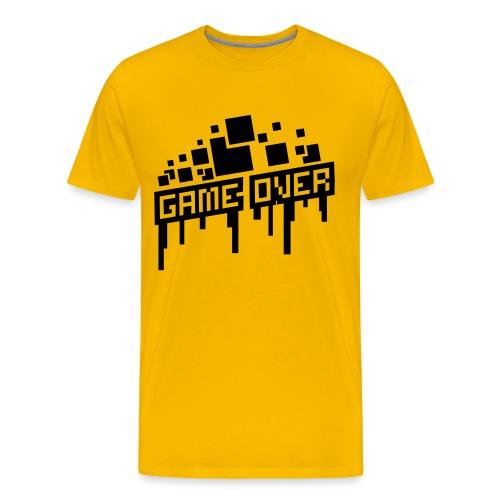 Men's Game Over Shirt - Men's Premium T-Shirt