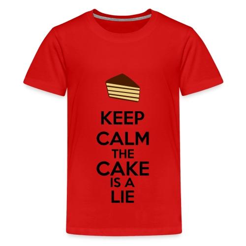 Teenager's Portal Shirt - Teenage Premium T-Shirt