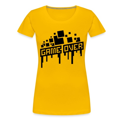 Women's Game Over Shirt - Women's Premium T-Shirt