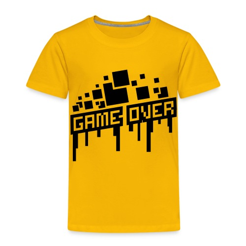 Kid's Game Over Shirt - Kids' Premium T-Shirt