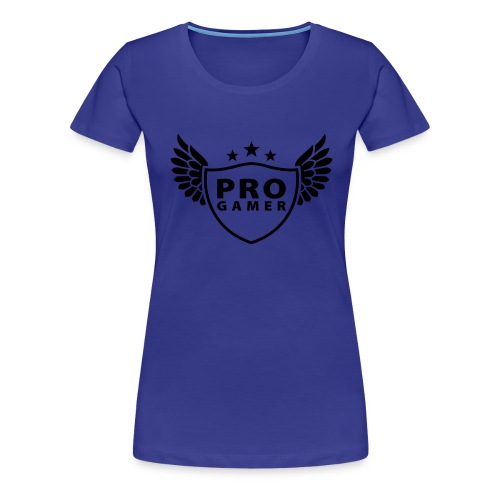 Women's Pro Gamer Shirt - Women's Premium T-Shirt