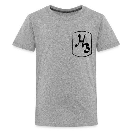 new logo t shirt 10-12 any colour  - Teenage Premium T-Shirt