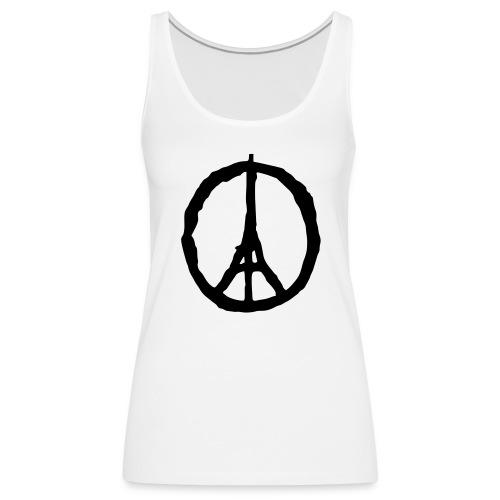 Peace for Paris - Frauen Premium Tank Top