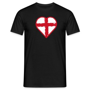 English heart - Men's T-Shirt