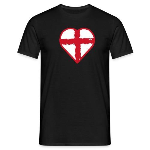 English heart - Men's T-Shirt