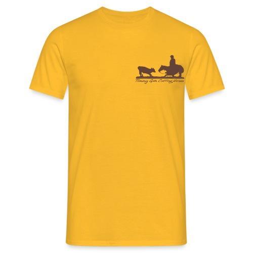 Tommy Gun Cutting Horses - Männer T-Shirt