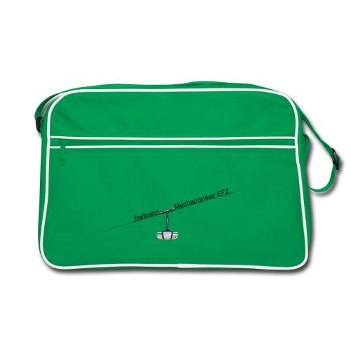 Umhänge Tasche mit dem Pendelbahn Logo - Retro Tasche