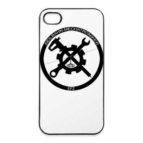 iPhone 4/4s Hard Case rundes Logo - iPhone 4/4s Hard Case