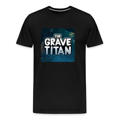TheGraveTitan 1st Shirt - Men's Premium T-Shirt