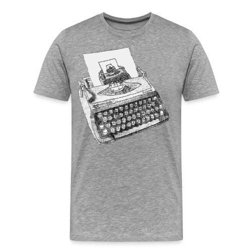 Typewritten Typewriter...writer..er - Männer Premium T-Shirt