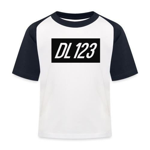 DL123 kids Baseball T-shirt - Kids' Baseball T-Shirt