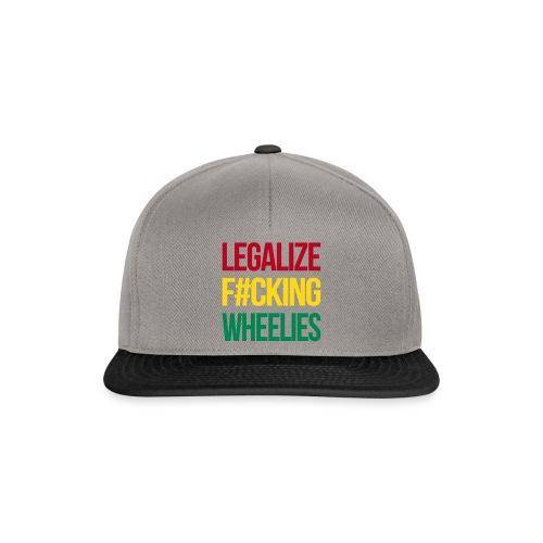 LegalizeF#ckingWheelies Snapback - Snapback Cap