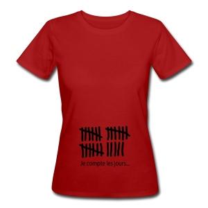 compte jours - T-shirt bio Femme