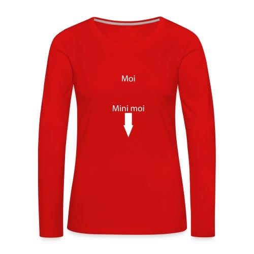 moi - T-shirt manches longues Premium Femme