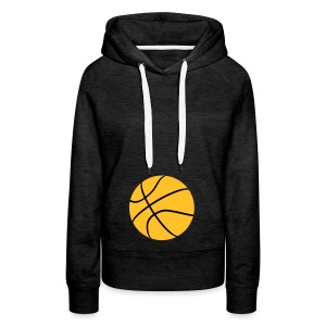 basket ball - Sweat-shirt à capuche Premium pour femmes