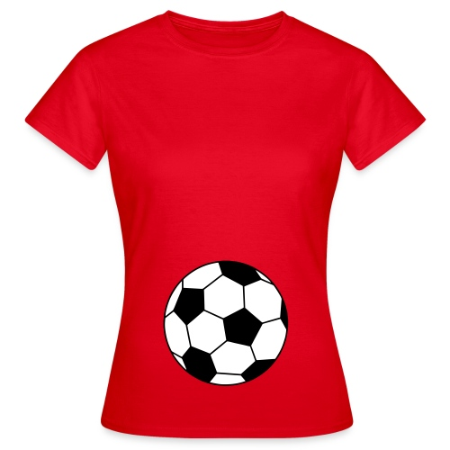 futur footballeur - T-shirt Femme