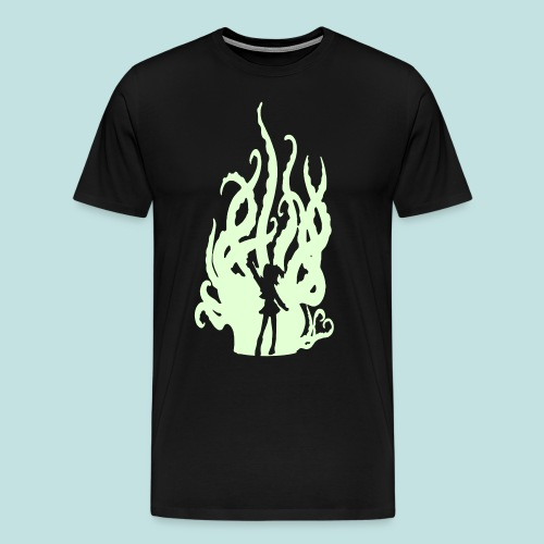 Special GLOWING Hentacles (Wide Shoulders) - Men's Premium T-Shirt