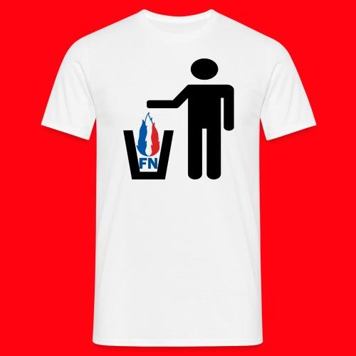 FN = Poubelle - T-shirt Homme