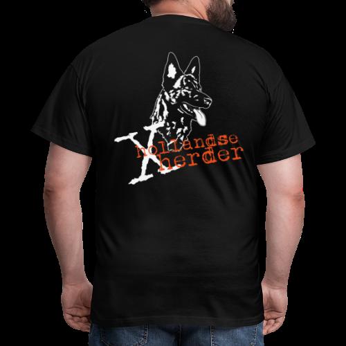 T.Shirt men, digitaler Direktdruck hinten, X-Hollandse Herder - Männer T-Shirt