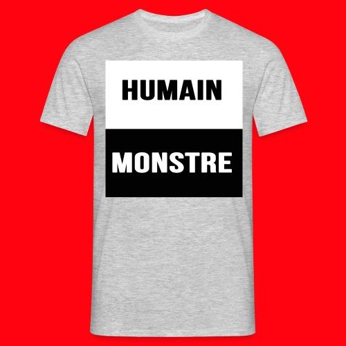 Humain - Monstre - T-shirt Homme