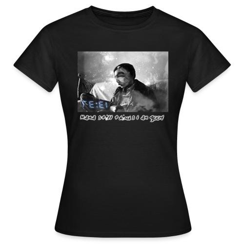 Avric (Mama Still thinks I am good) Women T-shirt with logo design at the back - Women's T-Shirt