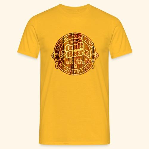 Craft Beer - Männer T-Shirt