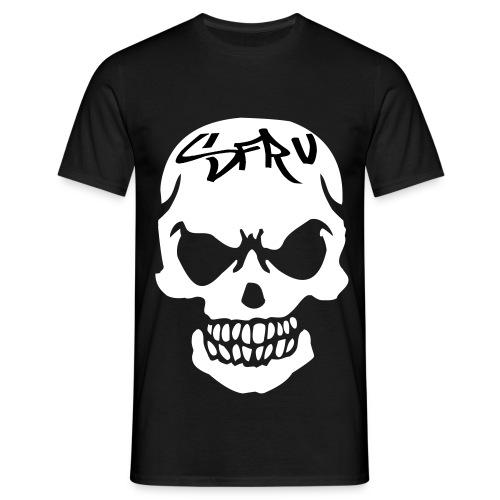 SFRV Skull T-Shirt BLK - Men's T-Shirt
