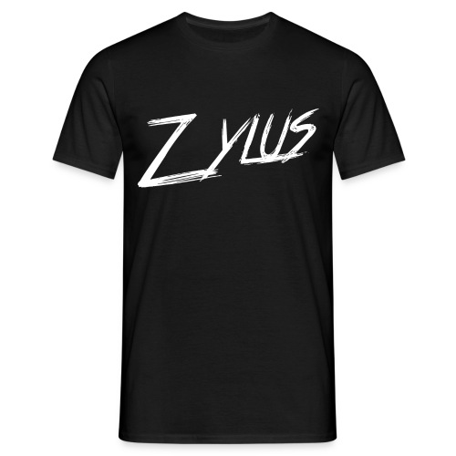 Zylus logo white (Men) - Men's T-Shirt