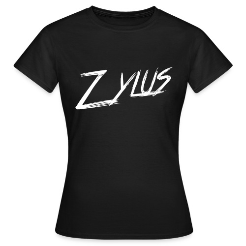 Zylus logo white (Woman - Women's T-Shirt
