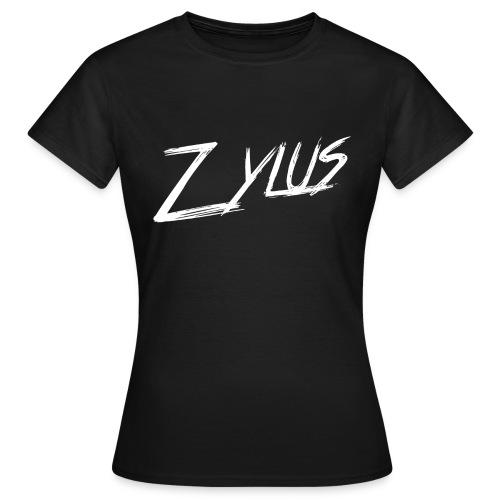 Zylus logo white (Woman - Women's T-Shirt