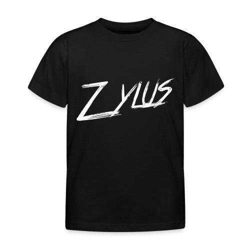 Zylus logo white (Kids) - Kids' T-Shirt