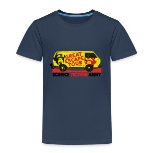 The Great Escape Tour - Kinder Premium T-Shirt