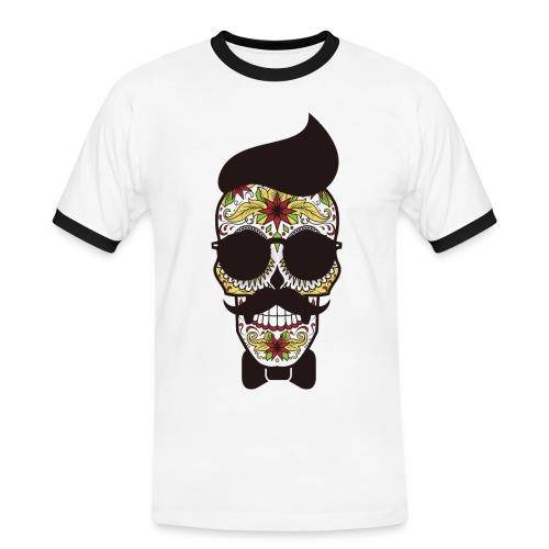 Hipster - T-shirt contrasté Homme