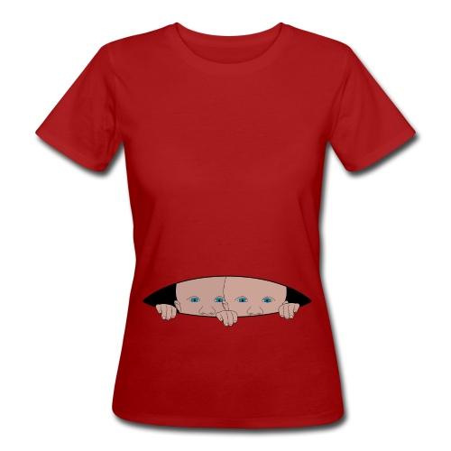 bébés jumeaux - T-shirt bio Femme