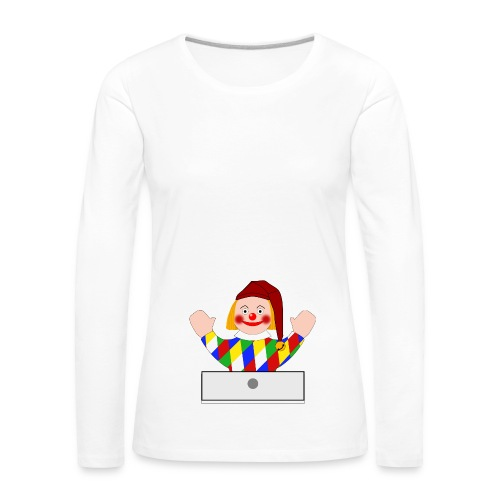 Polichinelle - T-shirt manches longues Premium Femme