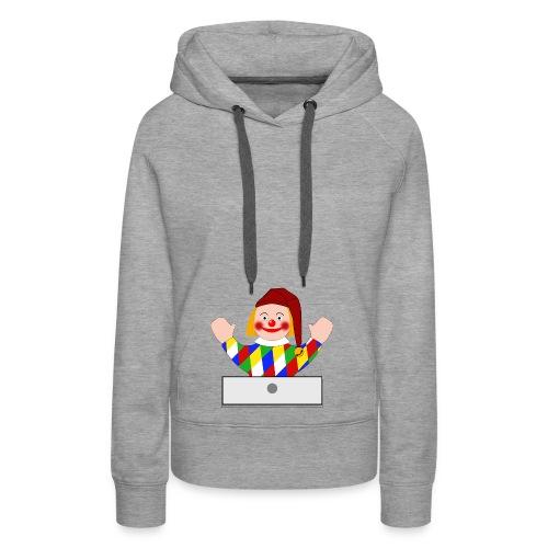 Polichinelle - Sweat-shirt à capuche Premium pour femmes
