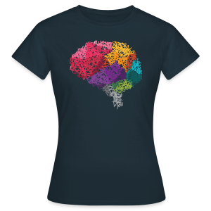 Poly-Brain Shirt Frau - Frauen T-Shirt