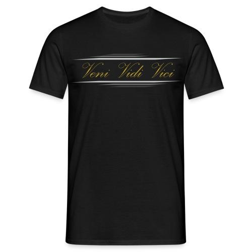 Veni Vidi Vici - T-Shirt - Black - Men's T-Shirt