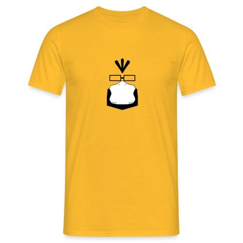 Gelb wie ein Enton - Männer T-Shirt